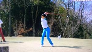 高柳愛実,ゴルフ,画像